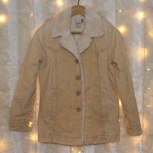 Kali Wear - Beige Corduroy Button-up jacket